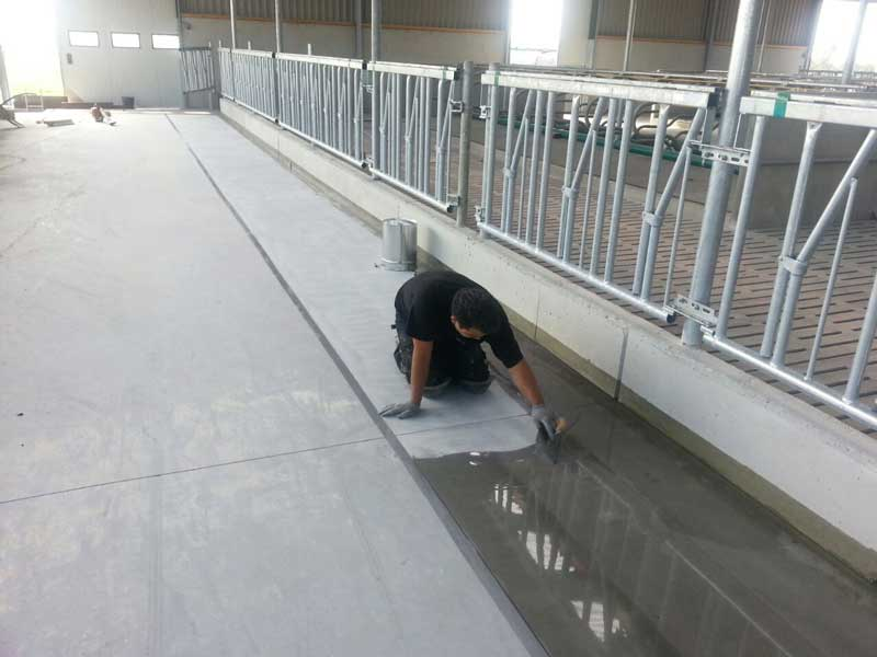 Industrieböden - Bodenbeläge - Wandbeläg!